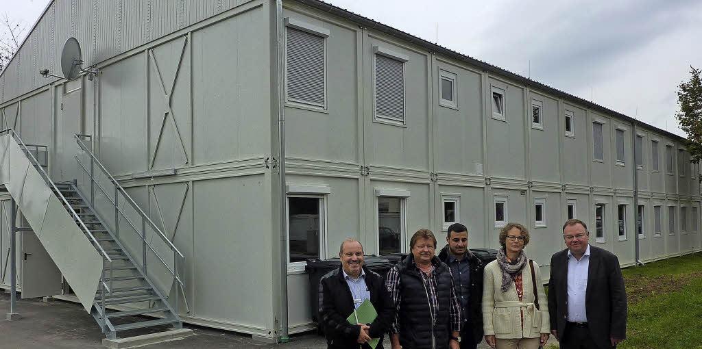 Zum einzug bereit teningen badische zeitung for Smart haus wohncontainer
