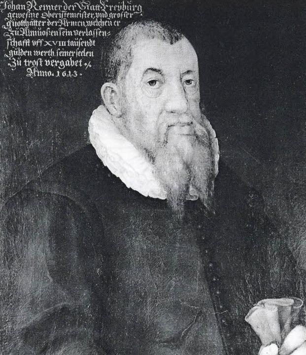 Johann Jacob Renner, Ölbild um 1613  | Foto: Stiftungsverwaltung