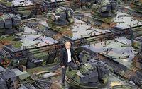 In einem Th�ringer Dorf lagert mehr Kriegsger�t als bei so mancher Armee