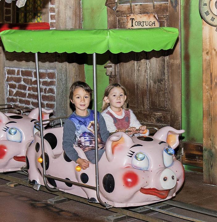 Schweinchen-Karussell auf Tortuga  | Foto: Olaf Michel