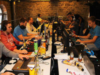 Wir-Gef�hl beim Zocken: LAN-Party im L�rracher SAK