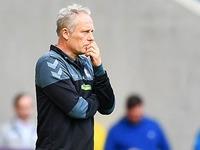 """Treter-Debatte nervt Trainer Christian Streich: """"Ich sag nix"""""""