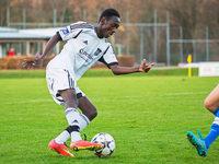 Lamin Colley aus Gambia spielt mit L�rrach in der Landesliga