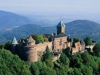 Die sch�nsten Burgen und Ruinen im Elsass