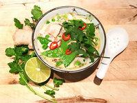 So gelingt die H�hnersuppe Tom Kha Gai