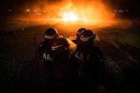 Fotos: Das Fl�chtlingslager von Calais wird ger�umt