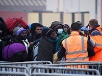 Das Fl�chtlingslager von Calais wird ger�umt