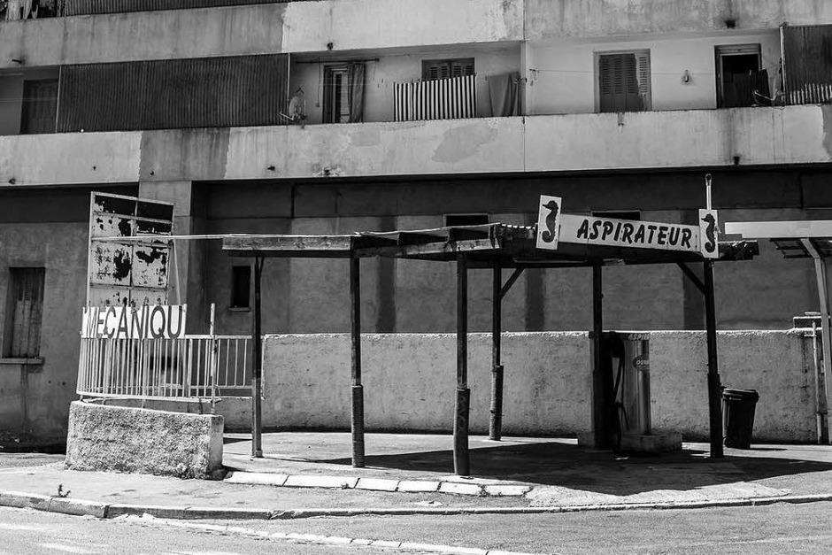 Keine Orte zum Wohlfühlen - die Banlieue von Marseille und Toulouse (Foto: Carlotta Huber)
