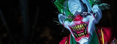 Die Horror-Clown-Welle erreicht den S�dwesten