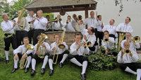 Mit Mathias Gronert und der Kapelle Egerl�nder Gold in Breitnau