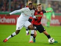 Elfmeterschie�en: SC Freiburg verliert gegen Sandhausen 6:7