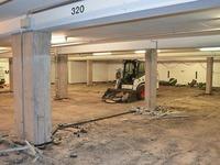 Tiefgarage des Landratsamtes wird bis Ende 2017 saniert