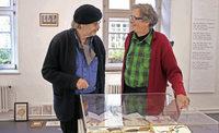 Der Autor, Humorist, Filmemacher, Sachensucher und Objektk�nstler Otto J�gersberg in Oberkirch