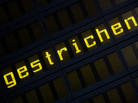 Germanwings-Fl�ge in Stuttgart und Basel gestrichen