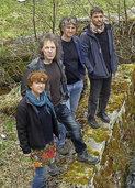 Mit Martin Ketterer (Gitarre und Gesang), Wilfried B�r (Bass), Bertram Zausig (Gitarre) und Sabine Zausig (Gesang) in Bonndorf
