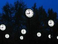 Am Sonntag werden die Uhren zur�ckgestellt
