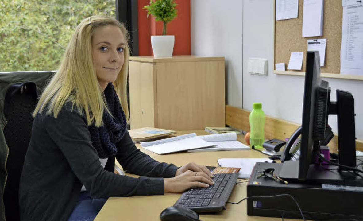 Saskia Lauke ist Schulsozialarbeiterin im Schulzentrum.     Foto: Horatio Gollin