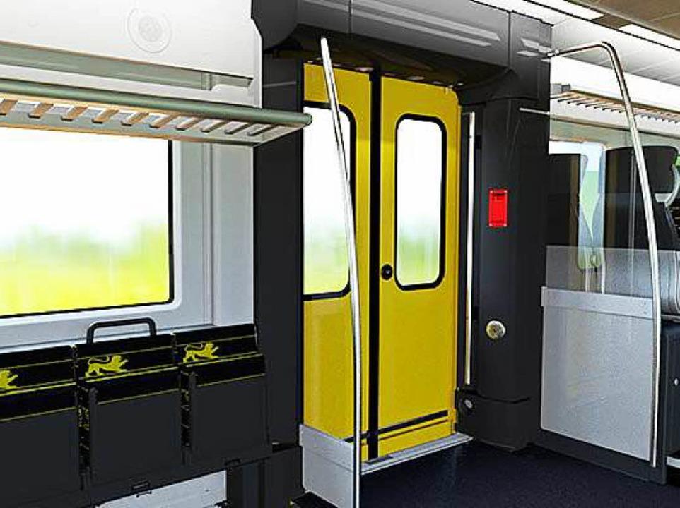 Der Zug von innen  | Foto: Alstom