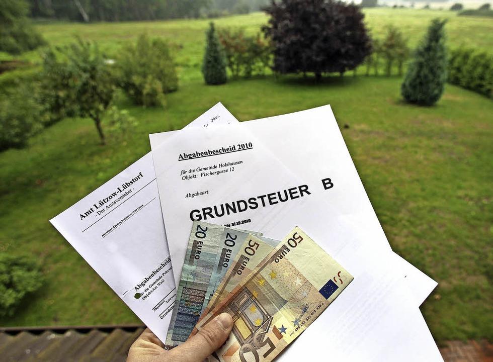 Die Grundsteuer soll reformiert werden.   | Foto: dpa