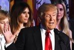 Fotos: Trump im Weißen Haus – die Wahlnacht in den USA