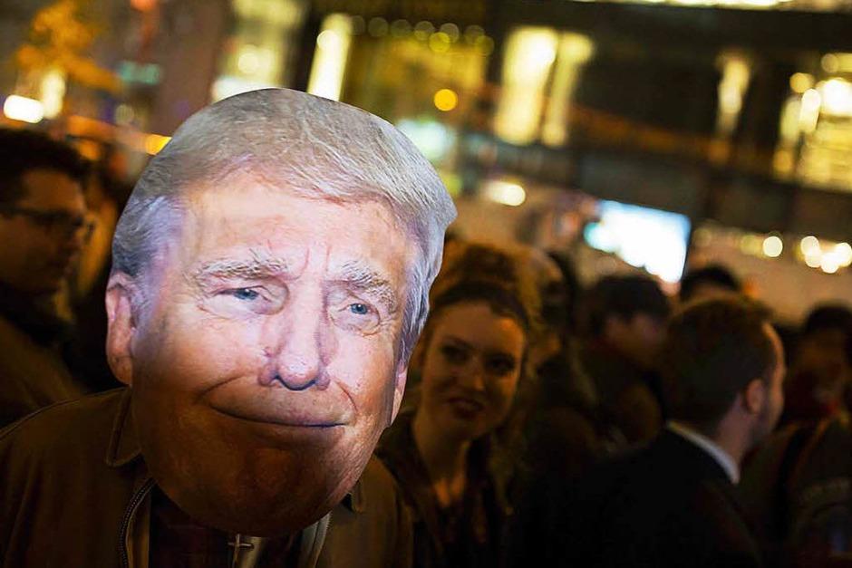 Große Gefühle in Amerika (Foto: AFP)