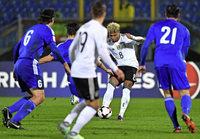 Drei Gnabry-Tore bei Deutschlands 8:0 Sieg gegen San Marino