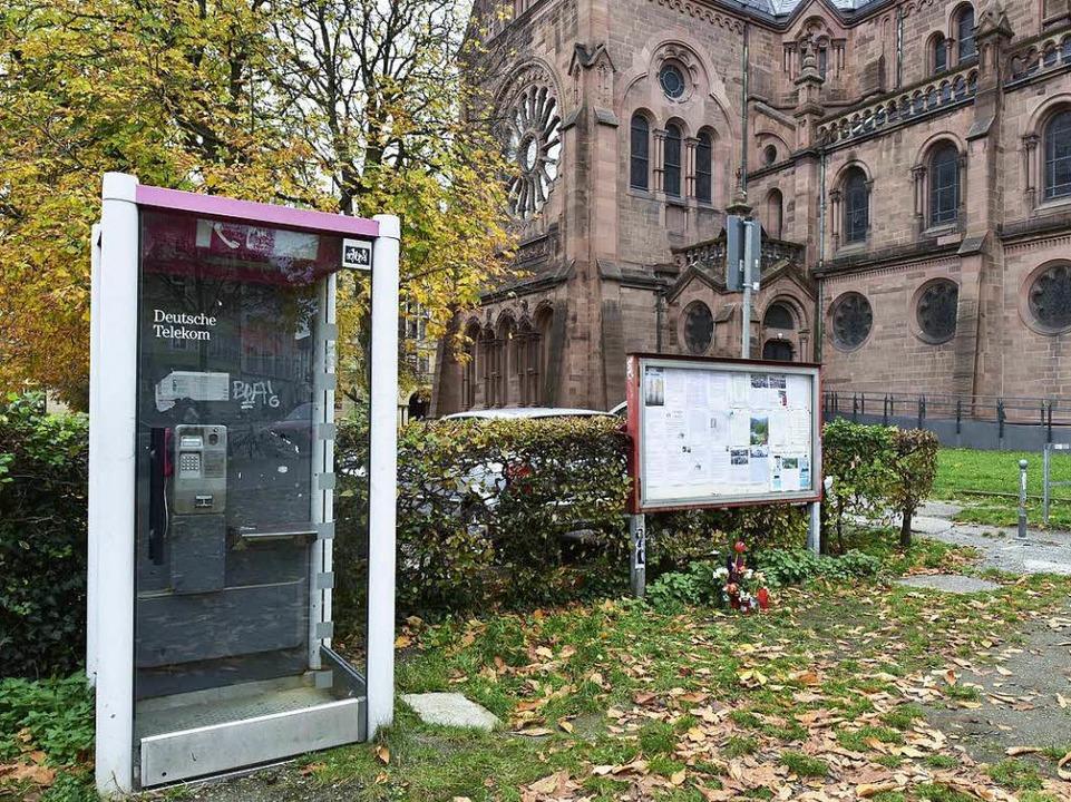 An der Johanneskirche wurde ein 51-Jähriger Anfang Oktober totgeprügelt.  | Foto: Thomas Kunz
