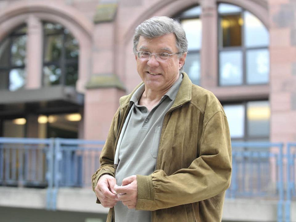 Der Freiburger Lehrstuhlinhaber für Ne...und Neueste Geschichte, Ulrich Herbert  | Foto: Michael Bamberger