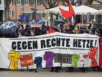 Fotos: Protest gegen AfD beim nichtöffentlichen Landesparteitag in Kehl
