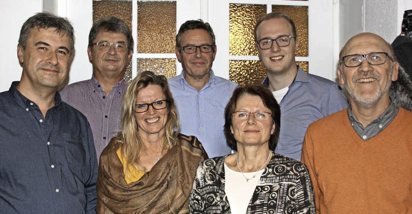 Thomas Wagner, Bernd Meyer, Ulrike Ruh...steam der Endinger Bürgergemeinschaft.  | Foto: Christiane Franz