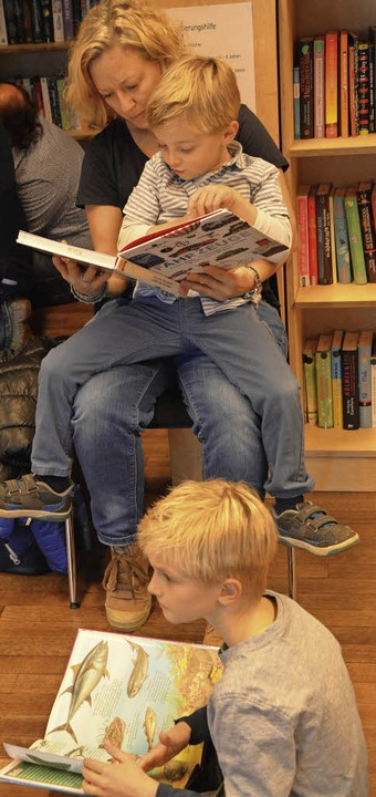 Lesen und vorlesen lassen  | Foto: Barbara Ruda