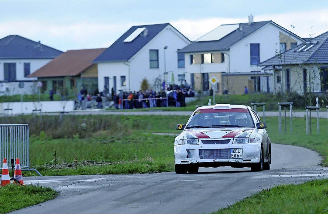 Rallye-Flitzer fegten durch die Feldwege - Neuried - Badische Zeitung