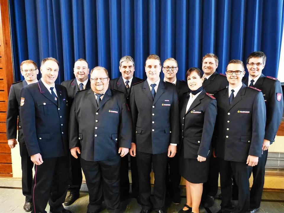 Die Ausschussmitglieder der Kreisjugendfeuerwehr   | Foto: Bachmann-Goronzy