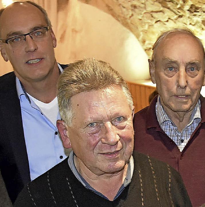 Verdiente Mitglieder des Ortsverbands ...n Mehlin und  Siegfried Hiltensberger   | Foto: Vollmar