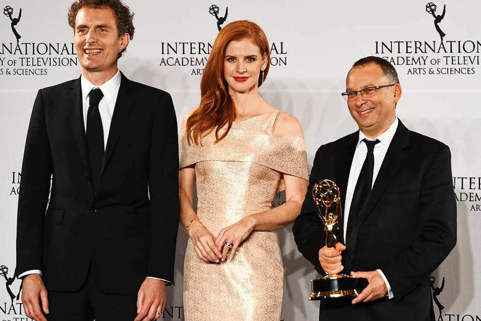 Die internationalen Emmys sind ein Ableger der US-Emmys und werden jährlich für die besten nicht-amerikanischen Produktionen vergeben. In diesem Jahr gingen drei Emmys nach Deutschland. (Foto: AFP)