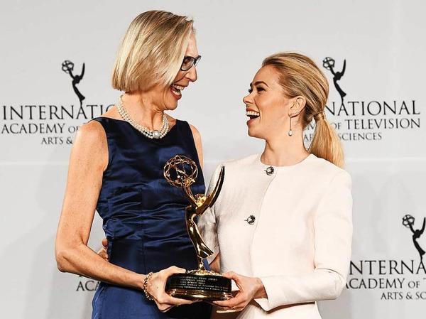 Die internationalen Emmys sind ein Ableger der US-Emmys und werden jährlich für die besten nicht-amerikanischen Produktionen vergeben. In diesem Jahr gingen drei Emmys nach Deutschland.