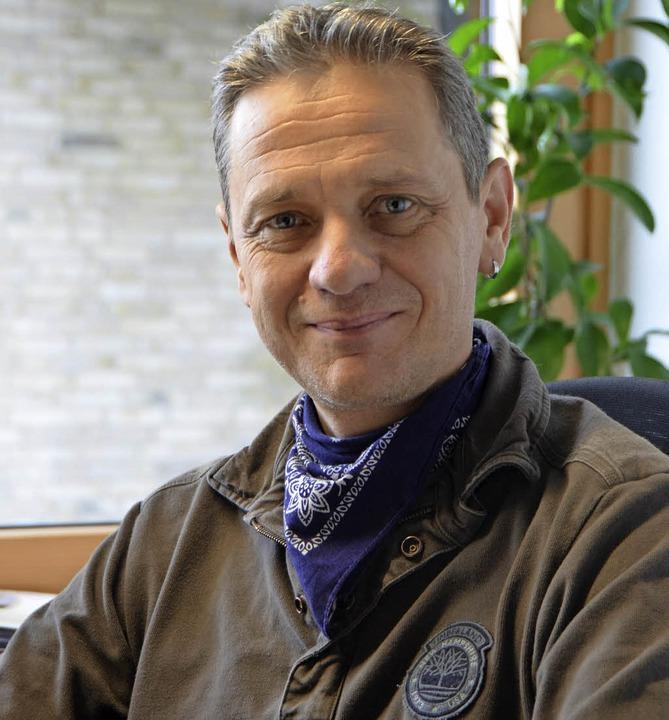 Hans Page, Geschäftsführer des Landschaftserhaltungsverbands im Landkreis    Foto: Marius Alexander