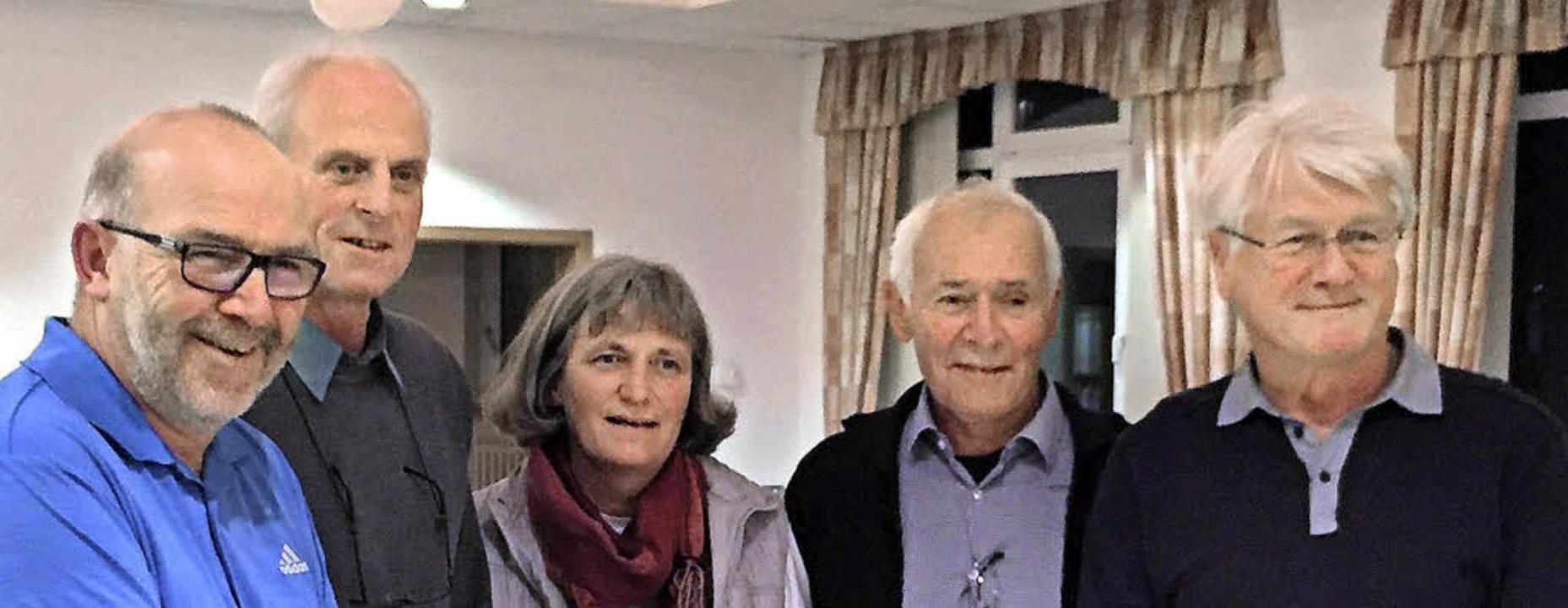Das Vorstandsteam (von links): Thomas ...in Maria Hartinger fehlt in der Runde.    Foto: ZVG
