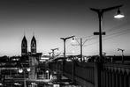 Fotos: Durch die Freiburger Nacht in schwarz-weiß