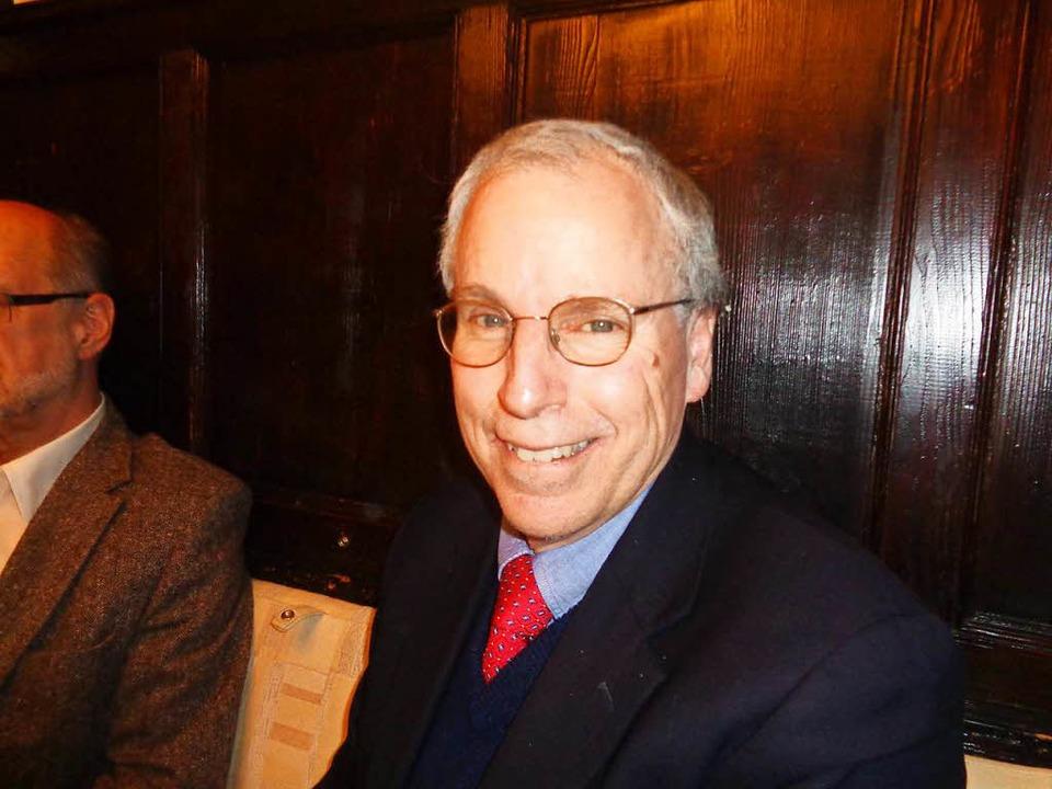 Robert Ford war US-Botschafter im Irak und in Syrien.  | Foto: Annemarie Rösch