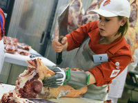 In Freiburg traf sich die Fleischerjugend zum Wettbewerb