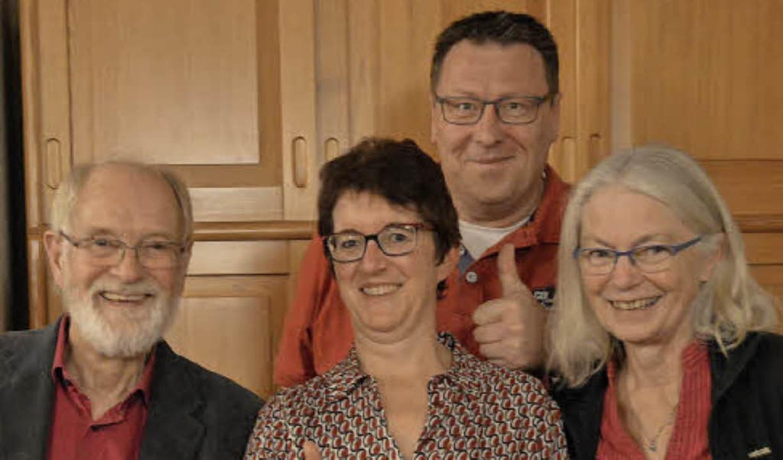 Der neue Vorstand (von links): Wilhelm...atthias Brugger und Margarete Hundorf   | Foto: Horatio Gollin