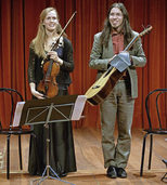 Fabian Cardozo und Anna Rebekka in Badenweiler