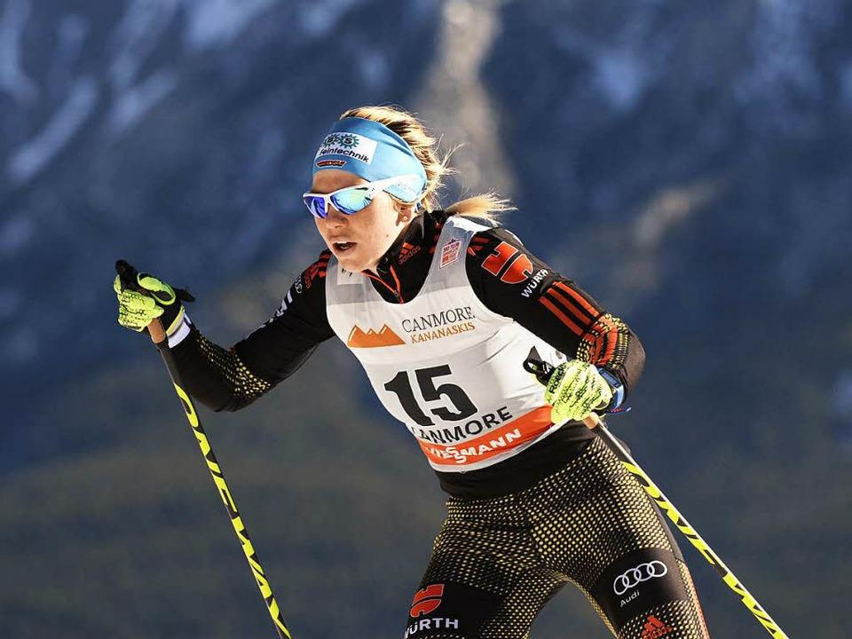 Sandra Ringwald übersteht als einzige ...uusamo die Qualifikation (Archivbild).  | Foto: dpa