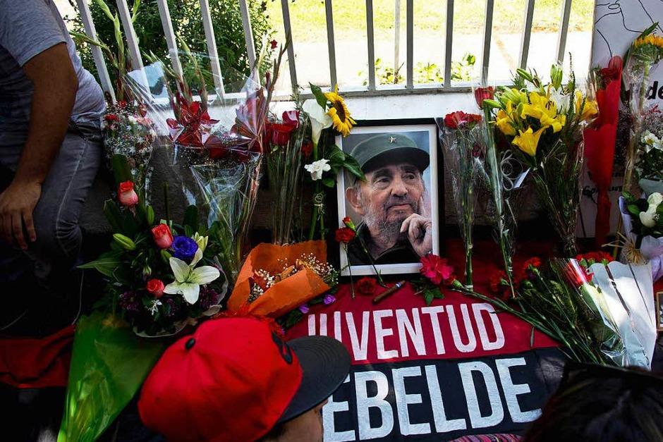 Trauer um Fidel Castro (Foto: AFP)