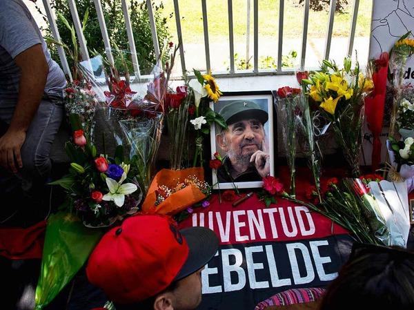 Trauer um Fidel Castro