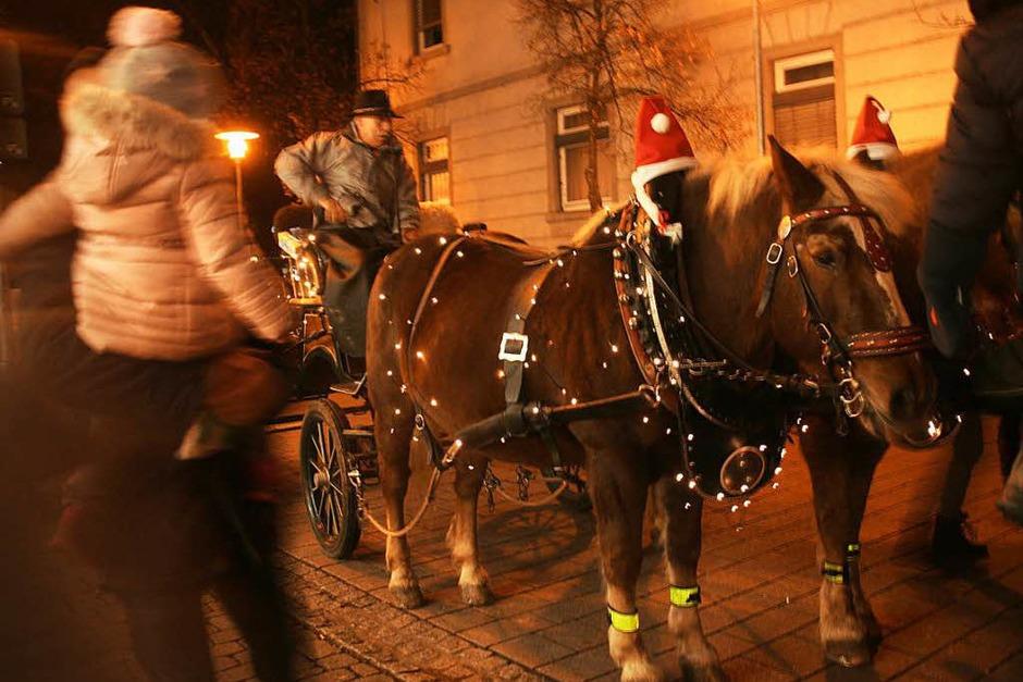 Fürs Auge war beim Lichterfest in Schopfheim eine Menge geboten (Foto: Marlies Jung-Knoblich)