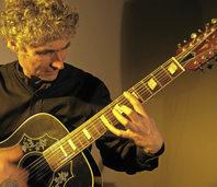 Der Gitarrist Gaetani Siino gibt am Samstag Konzert im Wehrer Storchehus