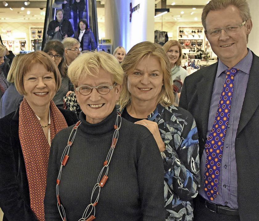 Sigrid Faltin, Hanna Lehmann, Reinhild...e und Ulrich von Kirchbach (von links)  | Foto: Michael Bamberger