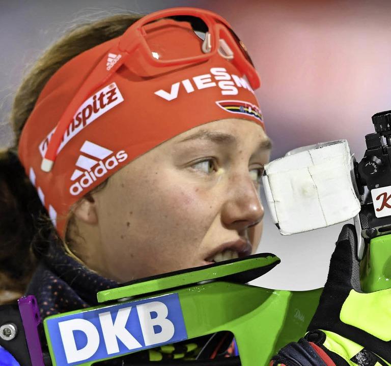 Laura Dahlmeier   | Foto: afp